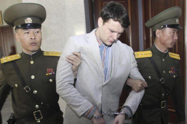 """Keterlaluan dan mengejutkan!"" - Korea Utara hukum pelajar AS kerja berat 15 tahun"