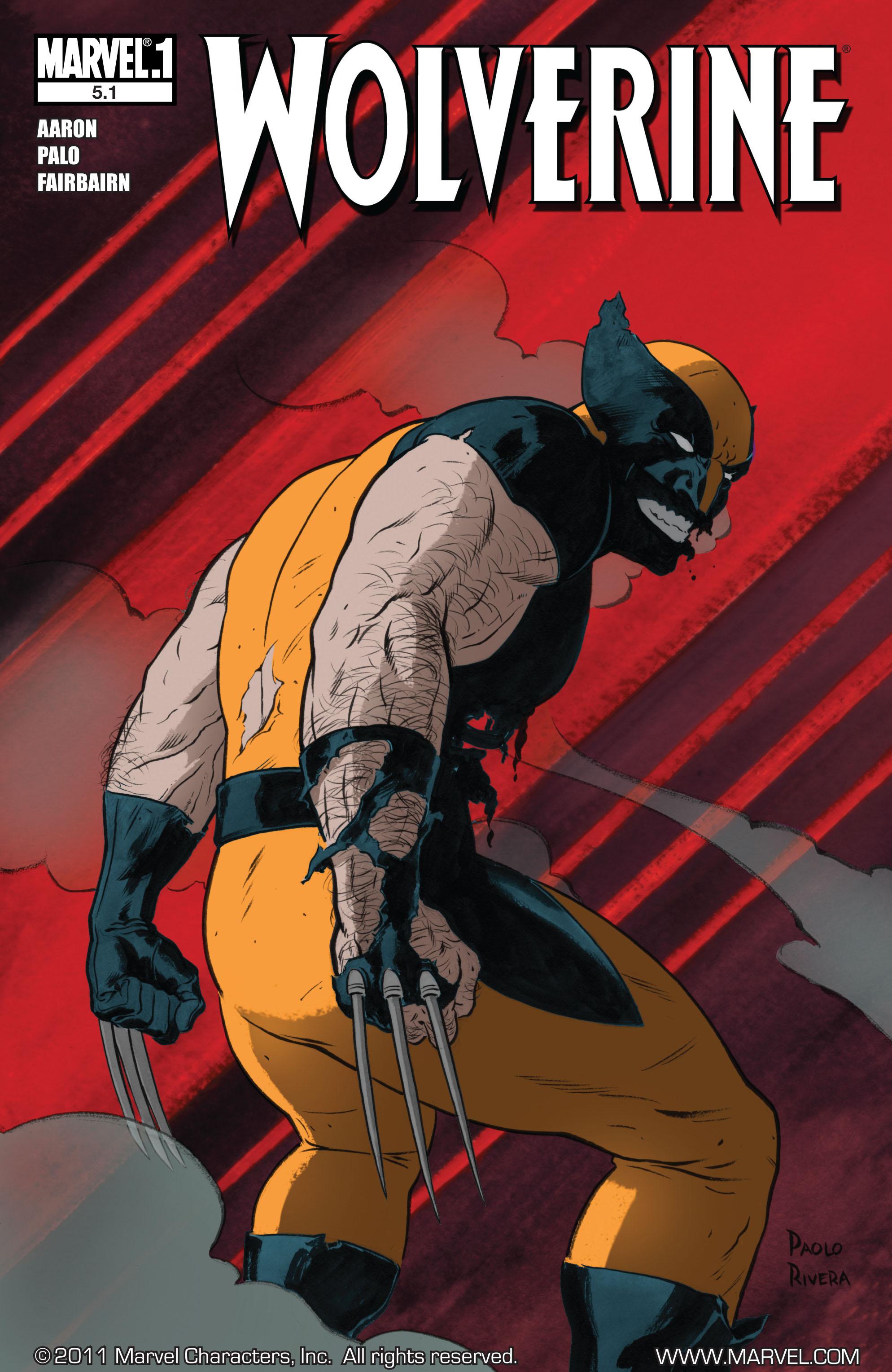 Wolverine (2010) 5.1 Page 1