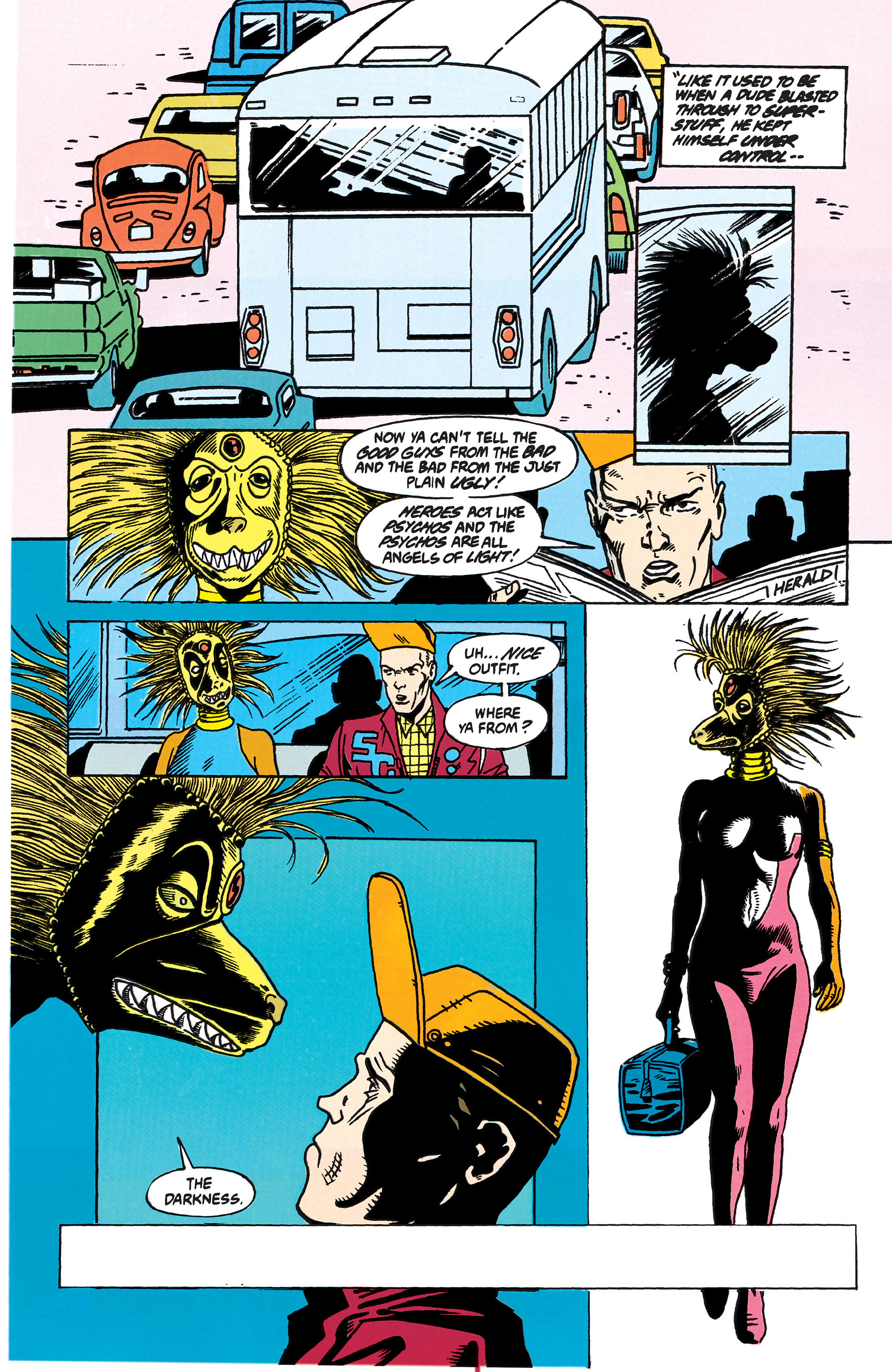 Read online Animal Man (1988) comic -  Issue #44 - 2