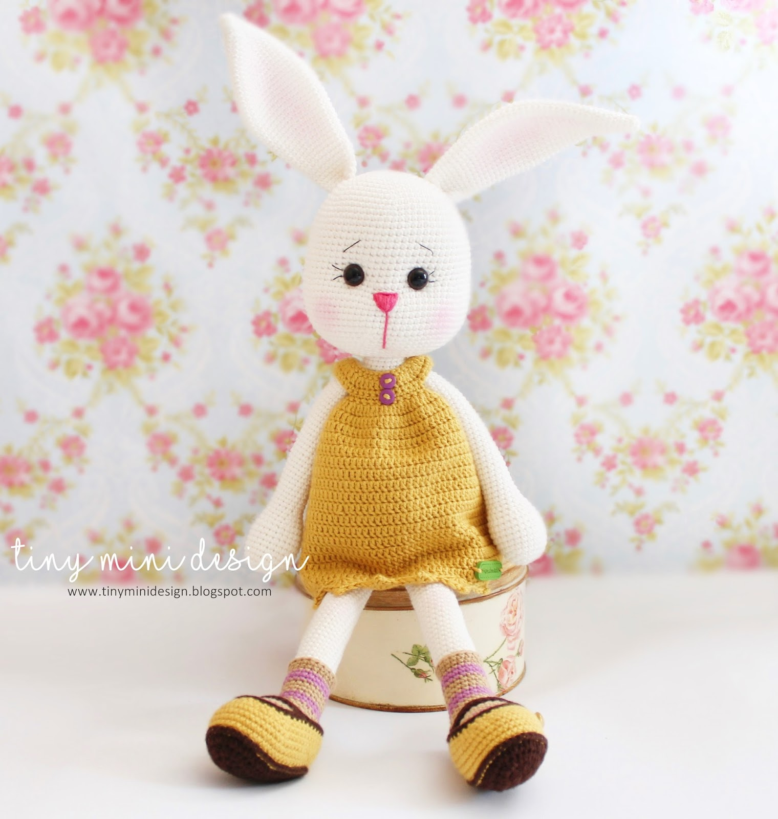 Amigurumi Tav?an Dotty- Amigurumi Bunny Dotty Tiny Mini ...
