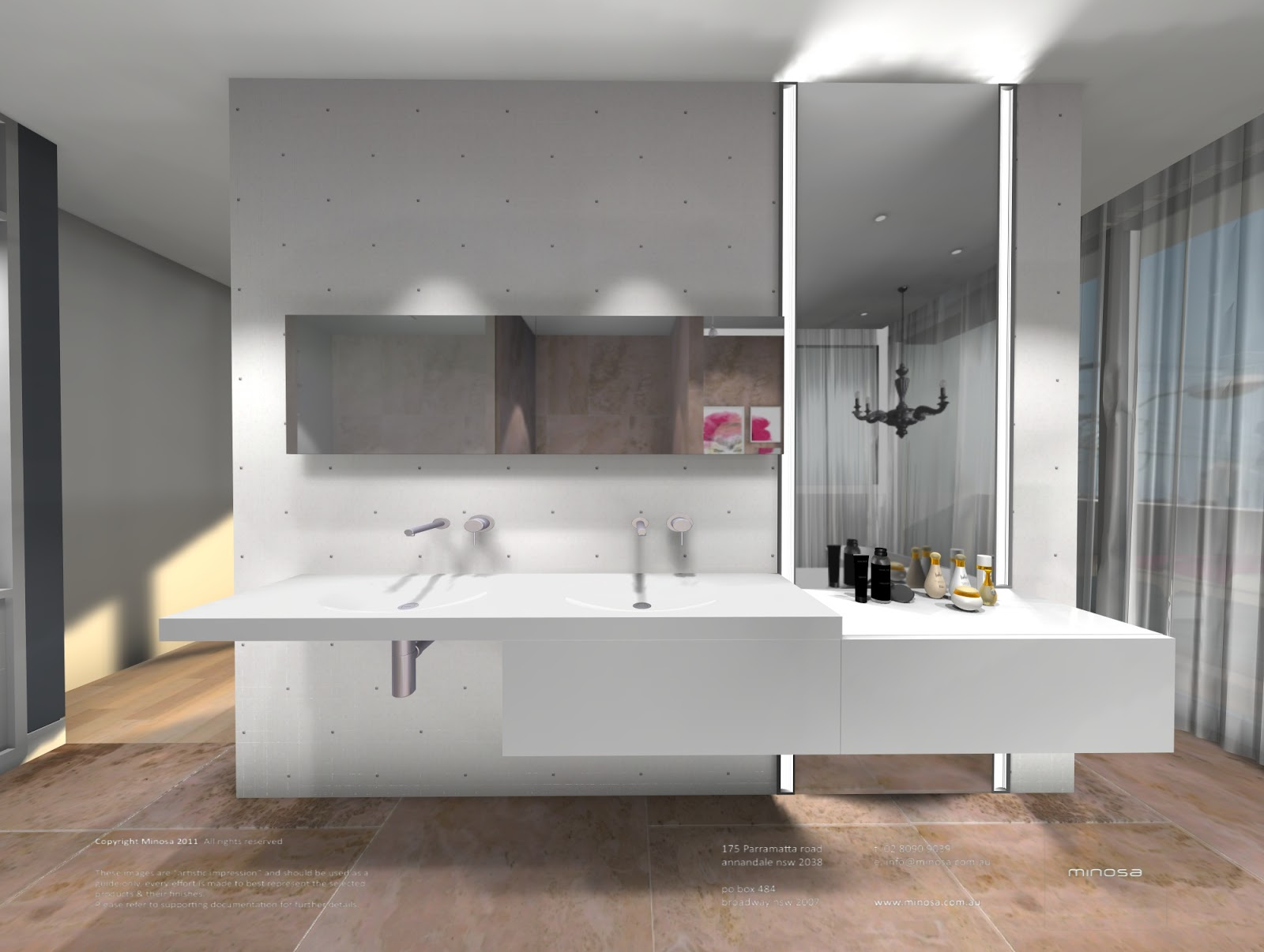 Minosa: NEW MINOSA BATHROOM DESIGN