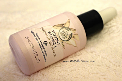 Khushi_World_April_Favorites_VitaminETheBodyShop