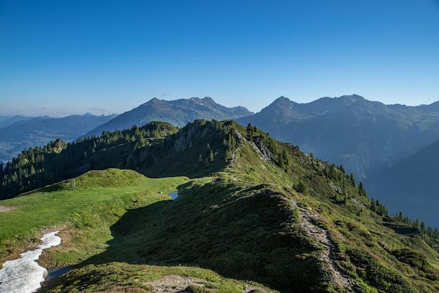 Panoramaweg Gantakopf  Wandern im Montafon 04