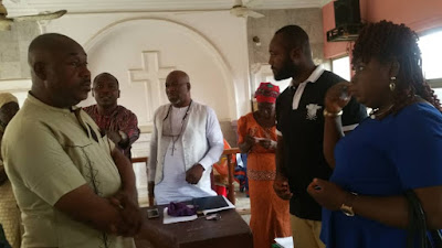 "Felicitations! As Veteran NollyWood Actor ""Rich Oganihu"" Launches CMASON"