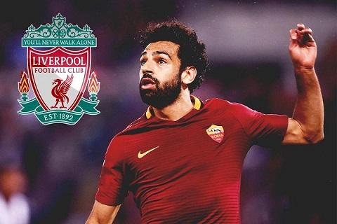 Salah chính thức khoác màu áo Liverpool