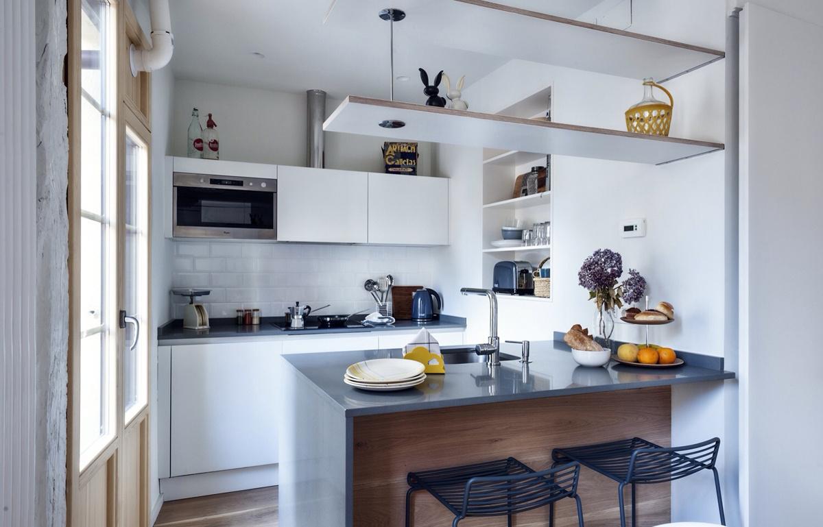 Decordemon nordic atmosphere in bilbao spain - Cucina stile vintage ...