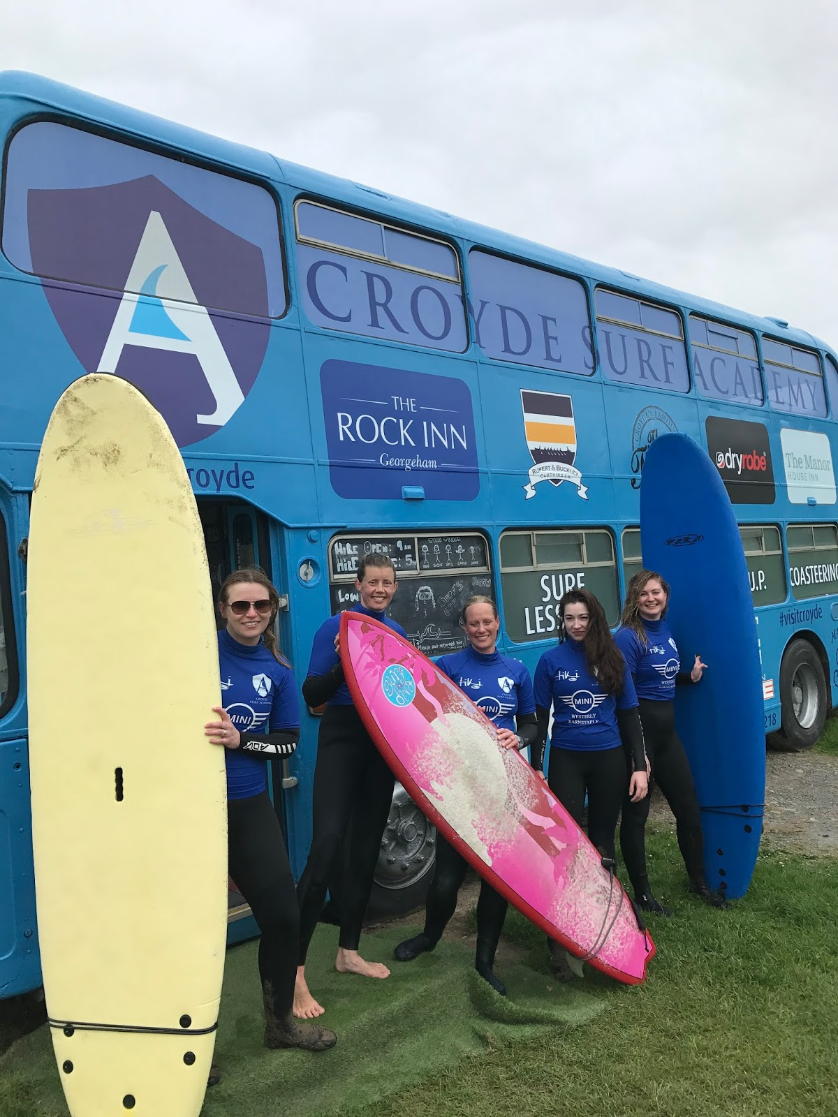 Resilient Women Adventures review, lifestyle blog, travel bloggers, Croyde Surf Academy