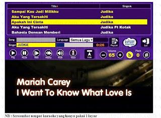 Program karaoke 1 TV