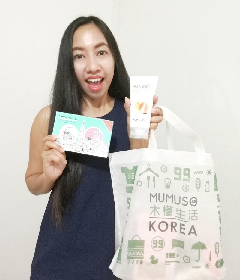 MUMUSO Korea shopping and product reviews
