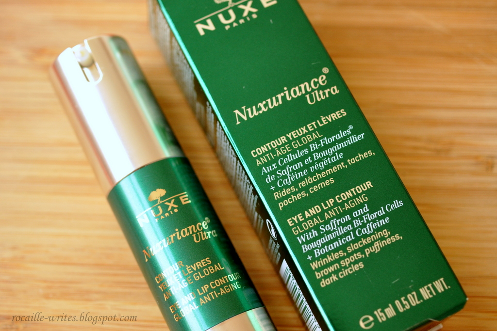 Conquering Those Fine Lines: Nuxe Nuxuriance Ultra Eye & Lip Contour