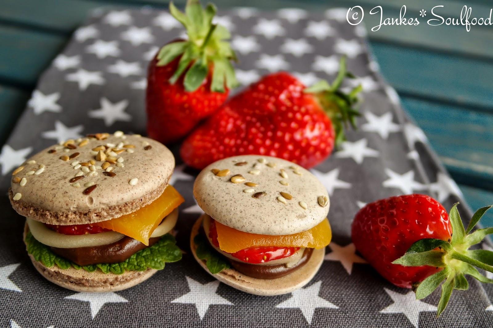 Burger-Macarons von Jankes Soulfood