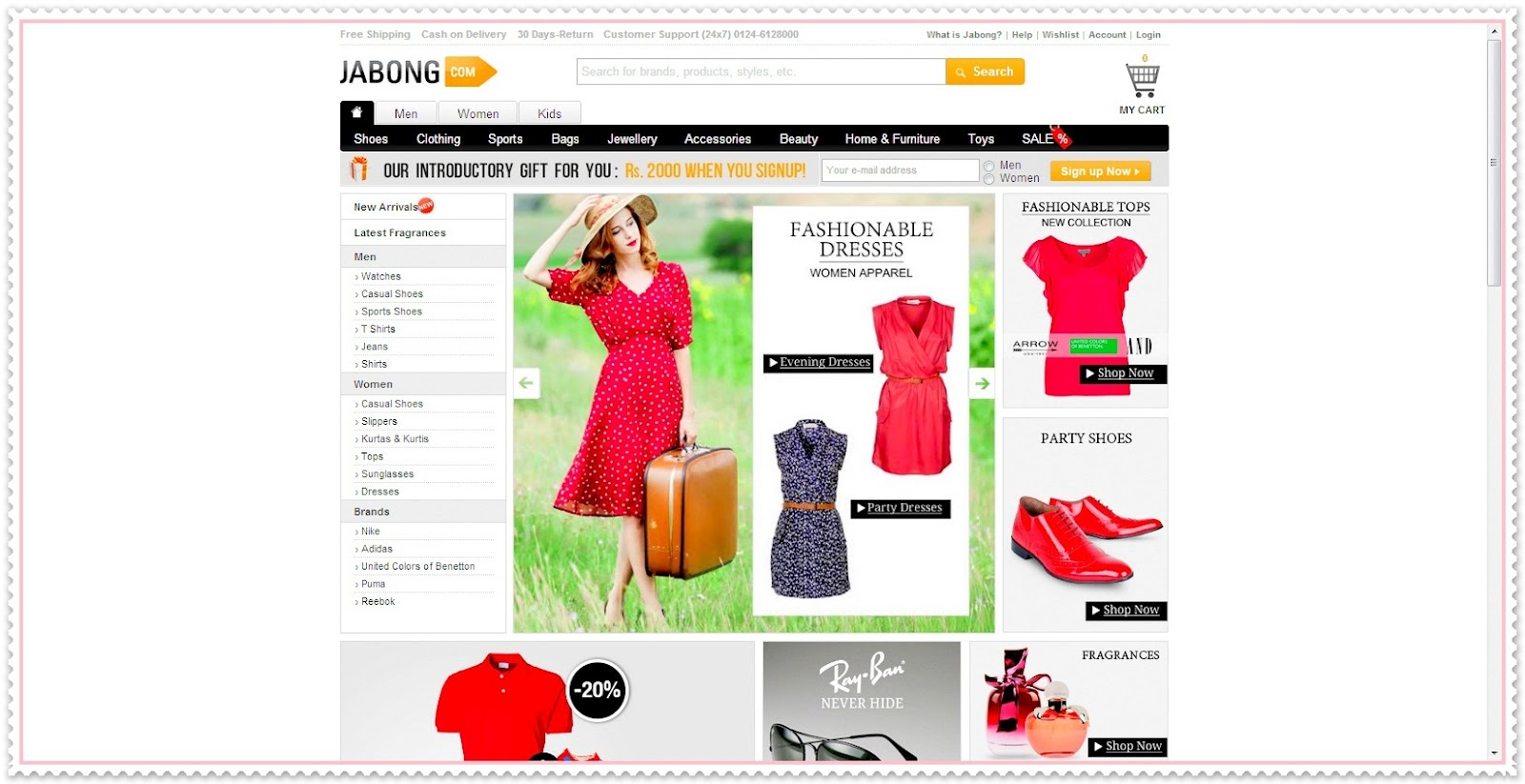 6429717e7 My shopping experience with Jabong.com