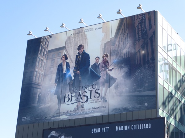 Fantastic Beasts and Where to Find Them billboard