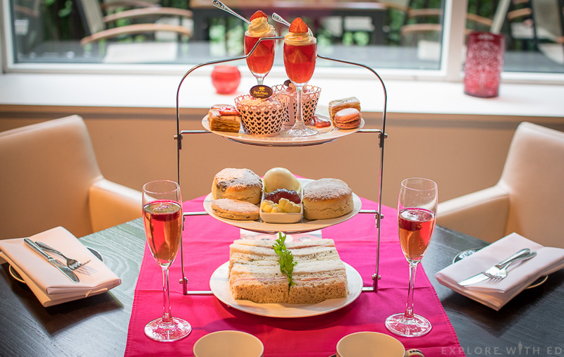 Park Plaza Pink Champagne Afternoon Tea