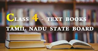 CLASS 4 - TEXT BOOKS TAMIL NADU STATE BOARD