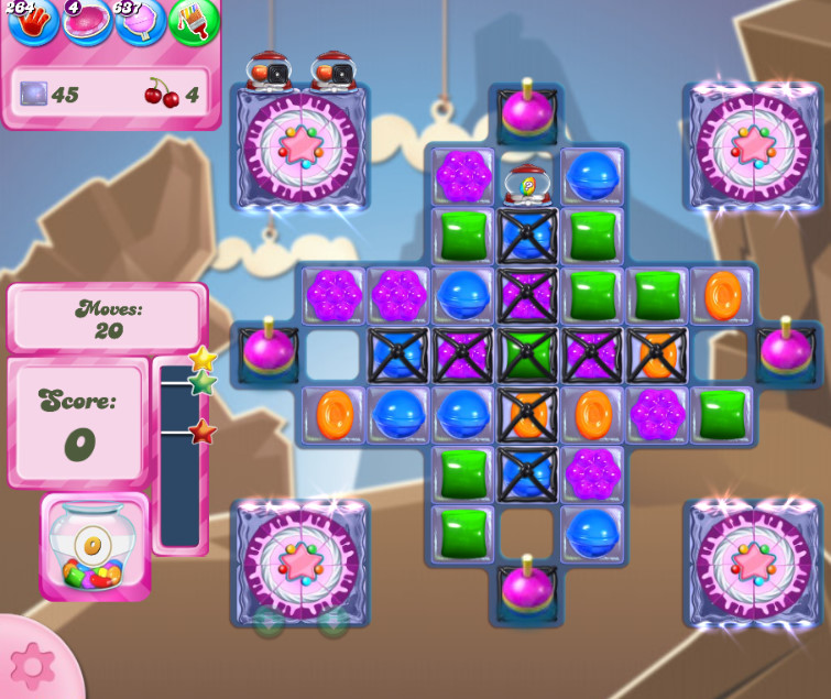 Candy Crush Saga level 2627