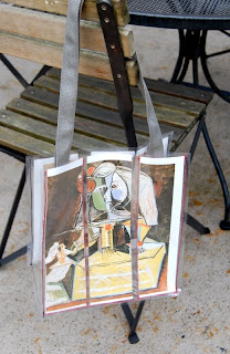 The Craftinomicon Clear Vinyl Tote Bag