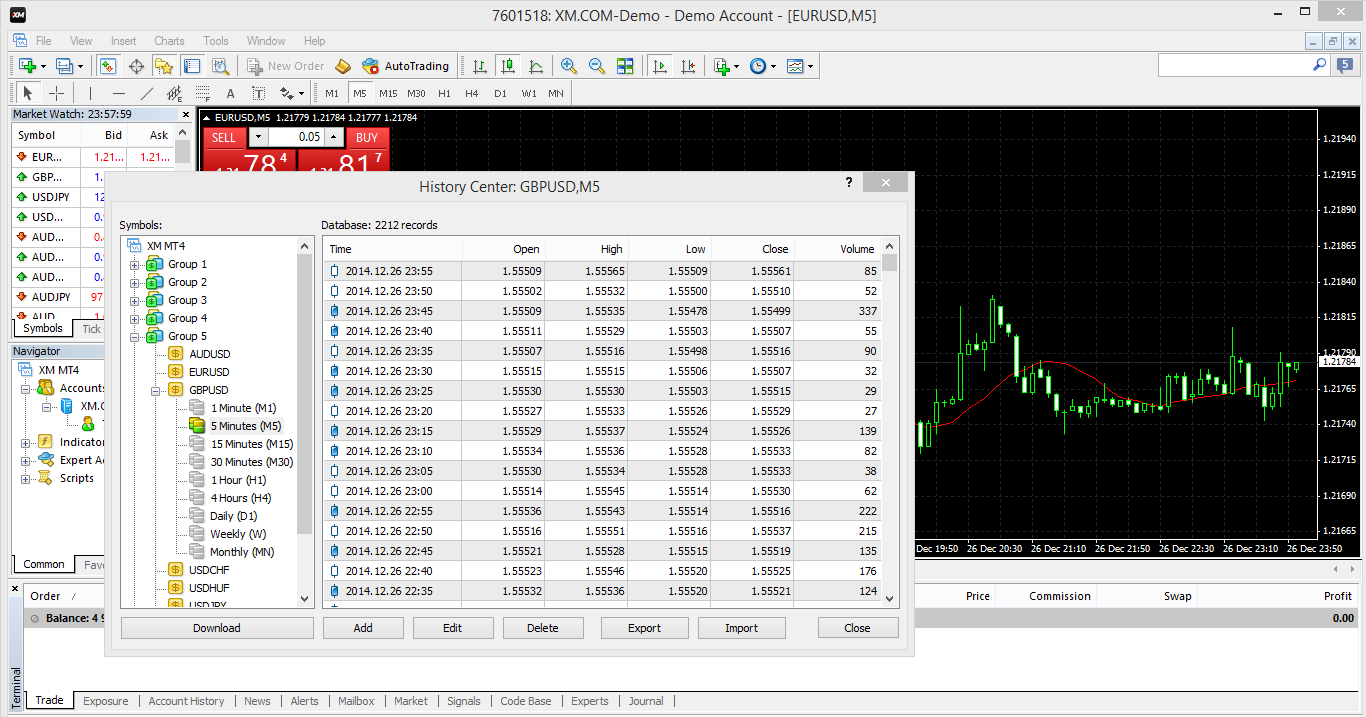 EOD data export from Metatrader and Import to Amibroker