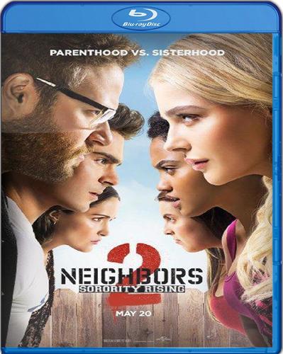 Neighbors 2: Sorority Rising [BD25] [2016] [Latino]