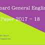 madhya-pradesh board english guess H.M medium  paper class 12th 2017-2018