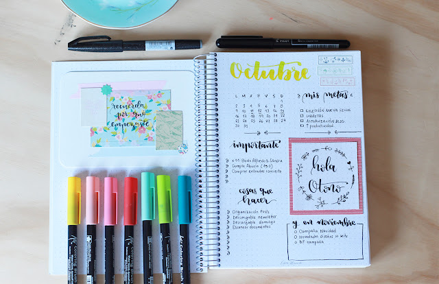 Bullet jorunal: cinco motivos por los que es importante la planificación mensual