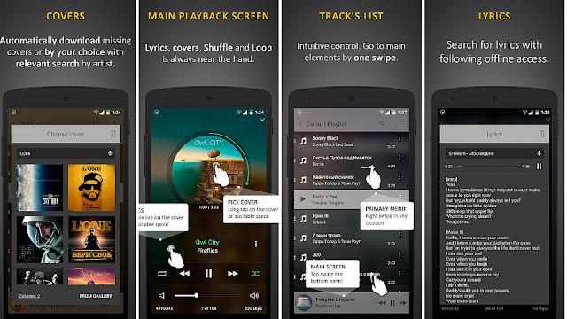 Harika Ses Kalitesine Sahip Android Müzik Uygulaması: Stellio Music Player