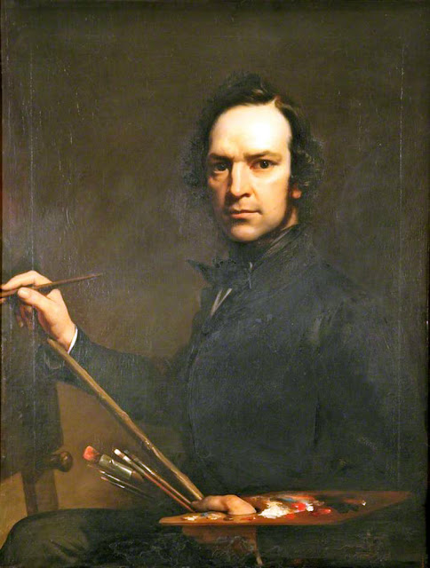 William Daniels, Self Portrait, Portraits of Painters, Fine arts, Portraits of painters blog, Paintings of William Daniels, Painter William Daniels
