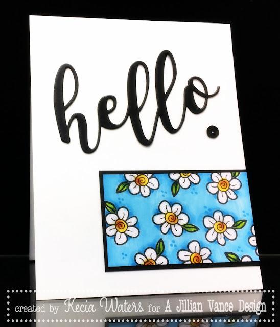 AJVD, Kecia Waters, A Jillian Vance Design, Hello, Grande