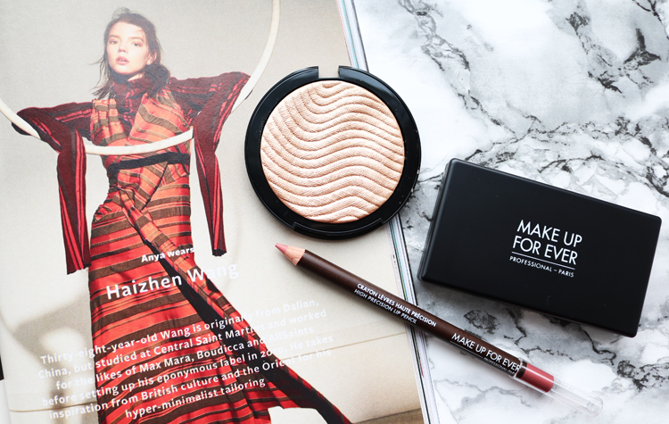 High-End Beauty: Trying Out Make Up For Ever - Review & Swatches