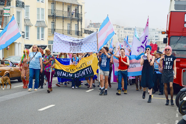 Brighton Trans Rights Parade