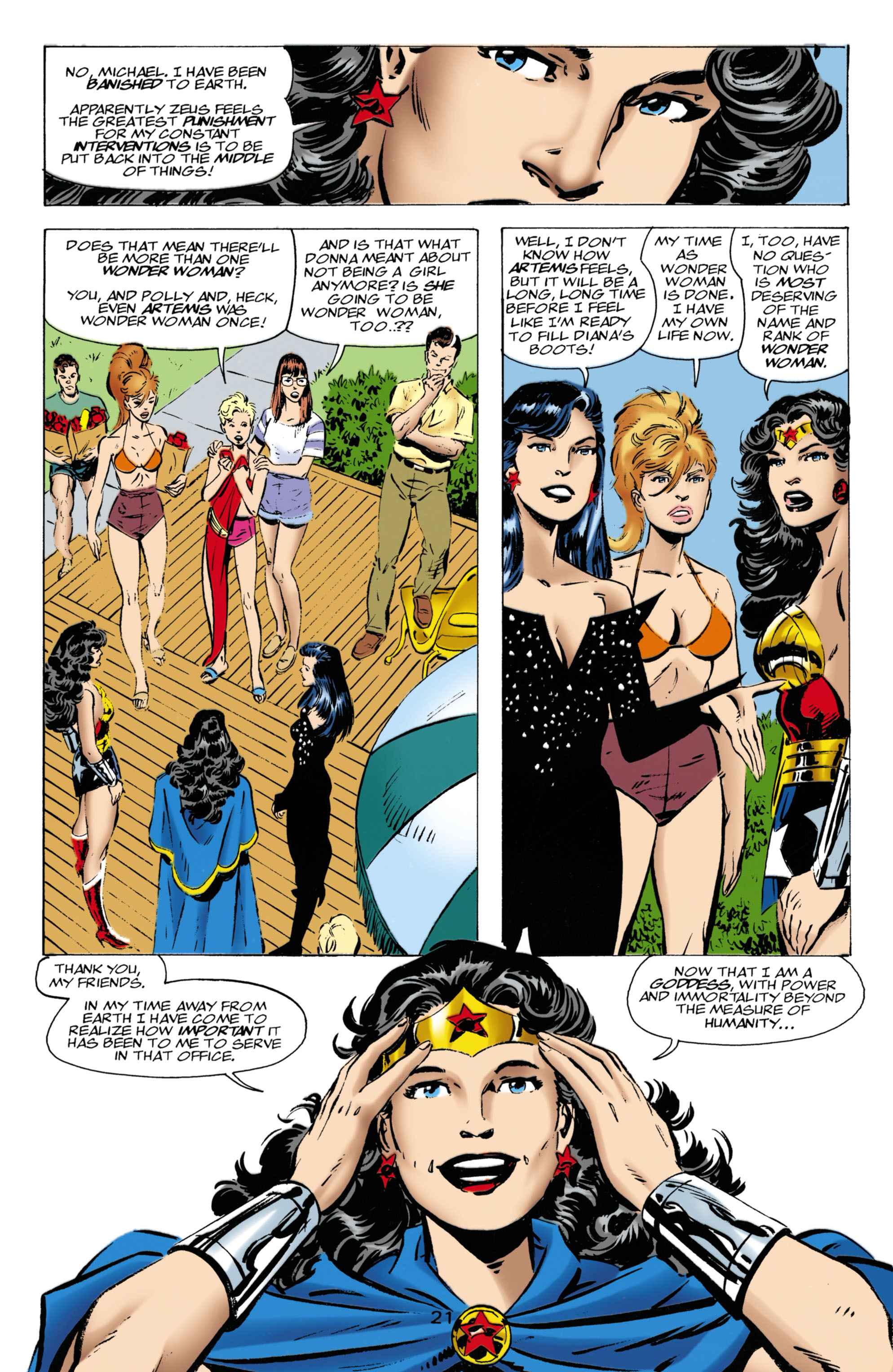 Read online Wonder Woman (1987) comic -  Issue #136 - 22