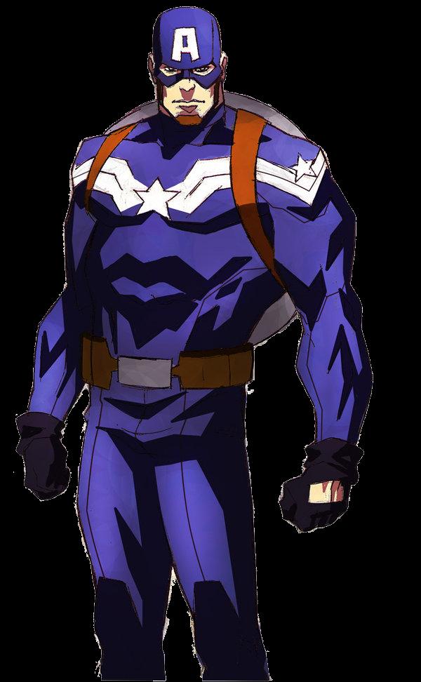 Gambar Hd Captain America Vektor Terbaru K Kartun