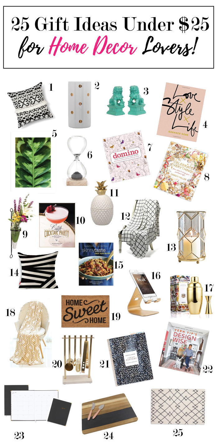25 Gifts Under 25 For Home Decor Lovers Monica Wants It
