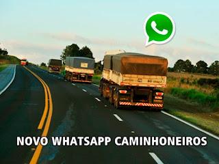 Abaixo esta o Link do whatsapp Caminhoneiros Herois