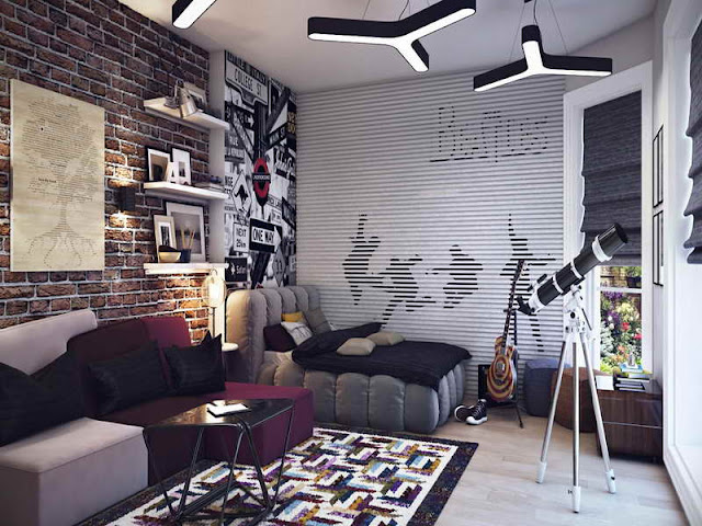 boy youth room decorating ideas
