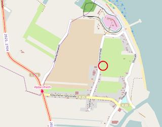 Karte Busstation Bützfleth, Abbenfleth