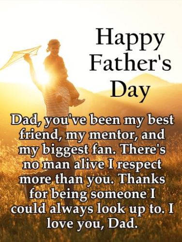 Happy father day dad