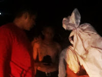 "11 ""POCONG"" Diamankan Polsek Bungoro di Jalan Poros Biringkassi Raya Pangkep"