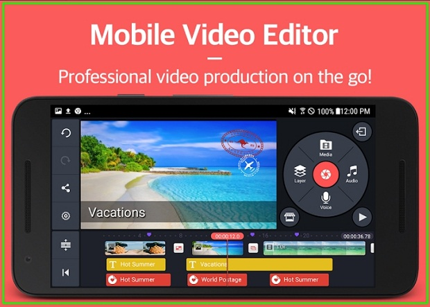 Software KineMaster Edit Video Android Terbaik 2019