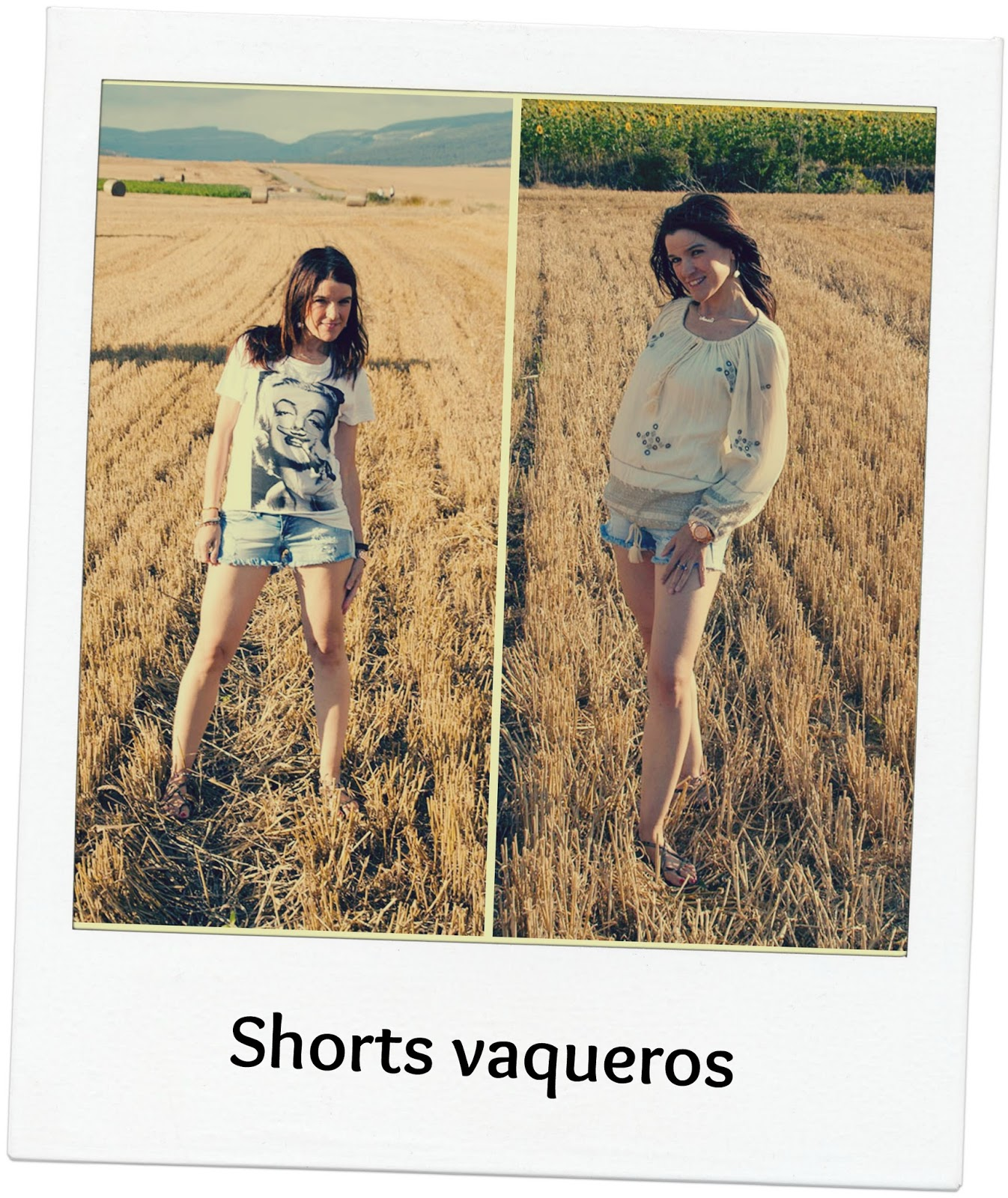 Dos propuestas para unos shorts vaqueros