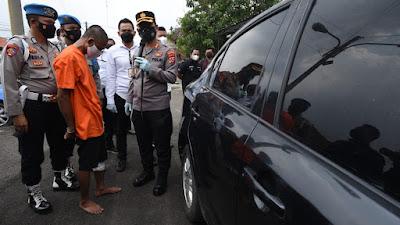 Kembali Pencurian dengan Pecah Kaca Mobil di Tangkap, Satu dari Lima Pelaku di tembak kakinya
