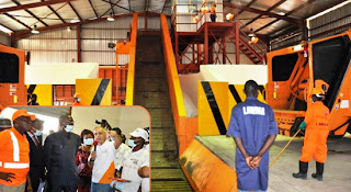 Governor Fashola Unveils Waste Transfer Loading Station In Oshodi Lagos 3