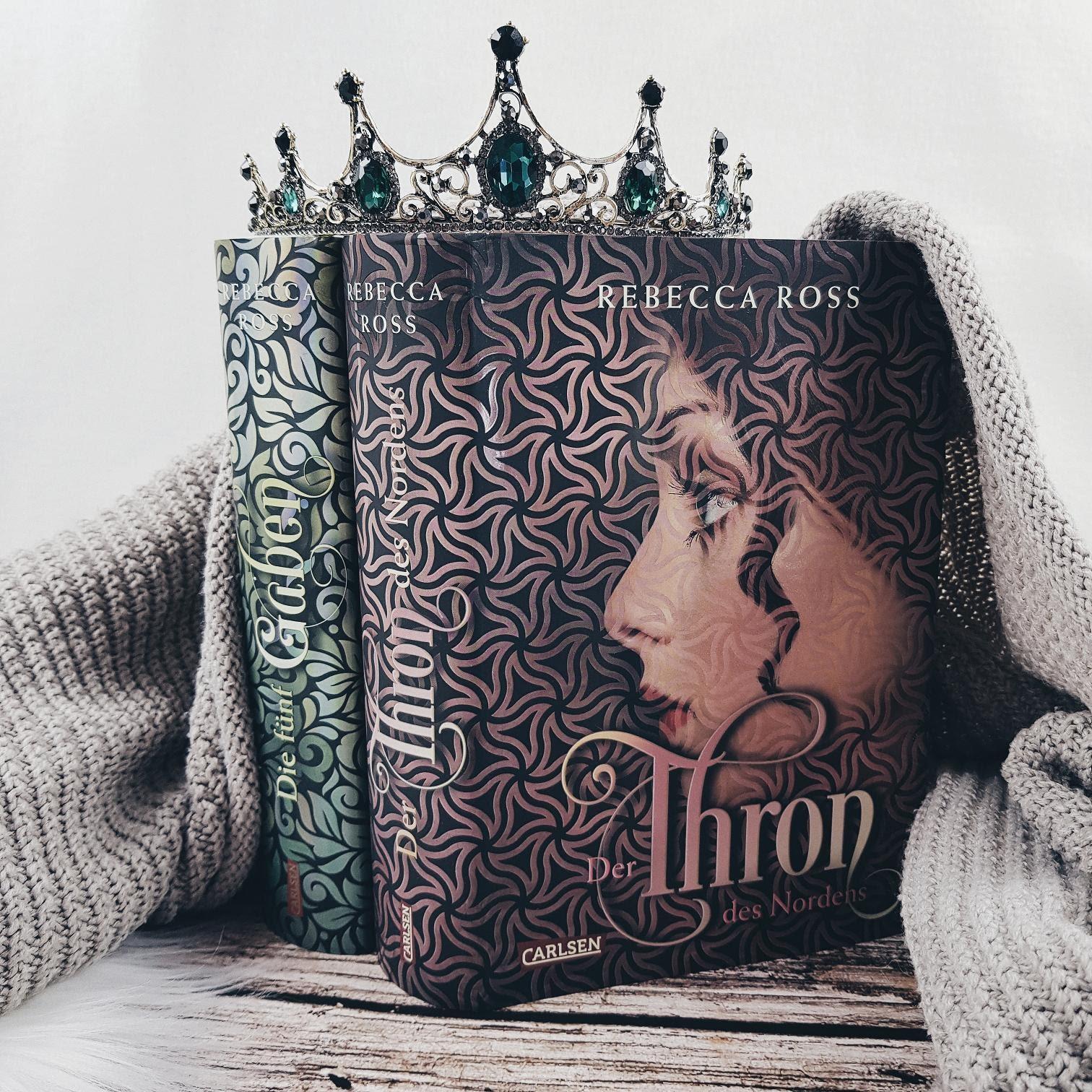 Bücherblog. Rezension. Buchcover. Der Thron des Nordens. Jugendbuch. Fantasy. Carlsen Verlag. ©Lisa B. | Prettytigers Bücherregal | prettytigerbuch