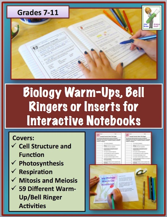Amy Brown Science: Biology Interactive Notebooks