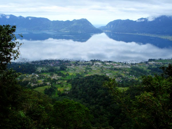Lake Maninjau West Sumatra
