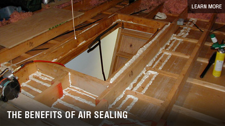 Air Sealing - DeVere Insulation Home Performance