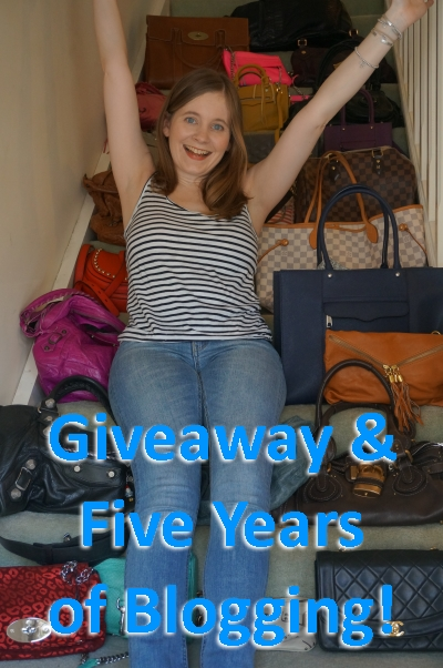 Away From Blue Giveaway Handbags 5 Years of Blogging