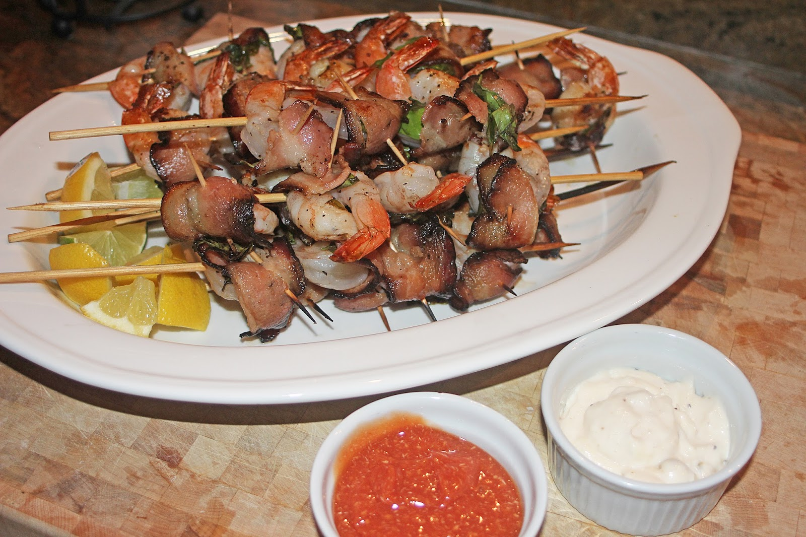 The Grub Files: Cooking with Camissonia: Grilled Bacon & Basil ...