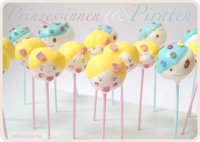 Anleitung, Cake Pops, Geburtstagsparty, Grundrezept, Piraten, Prinzessin, princess, pirat