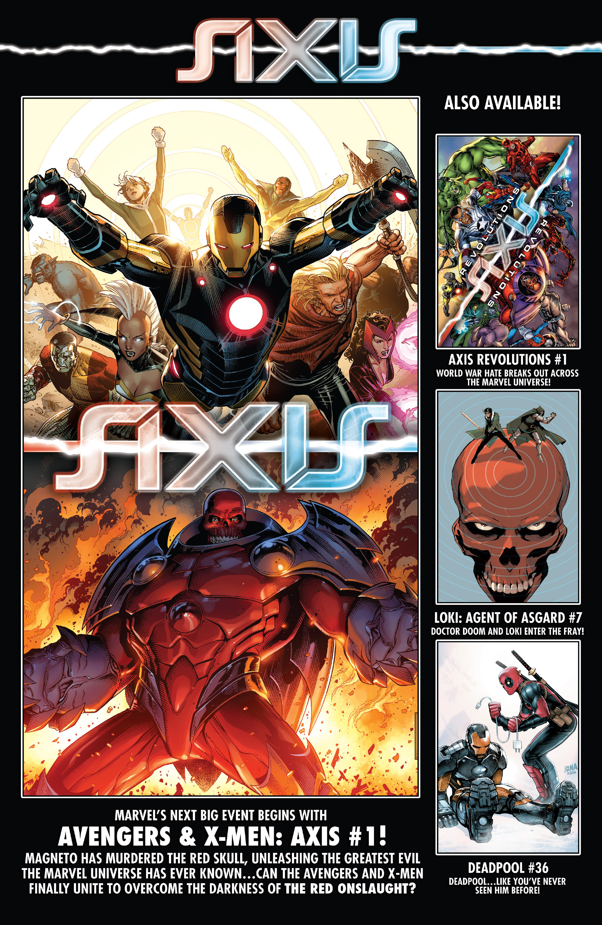 Read online Uncanny Avengers (2012) comic -  Issue #25 - 22